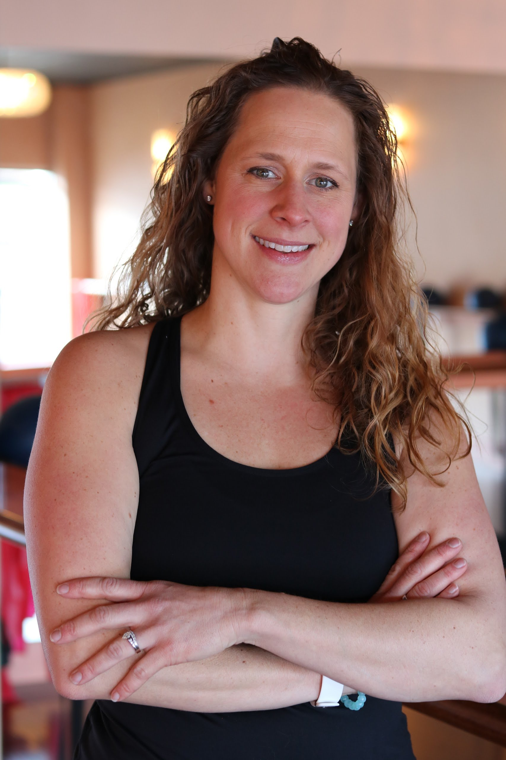 Jen Hohman // Instructor  When she is not working as a nurse or instructing barre classes, she enjoys many outdoor activities like gardening, biking, hiking, swimming, water & snow skiing.
