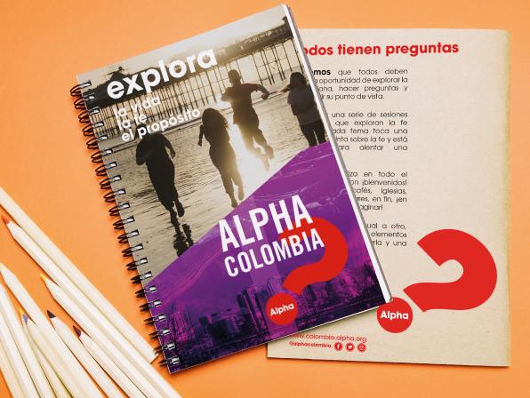 Cuadernos Alpha - Tamaño 17cm x 24 cmValor: 15.000