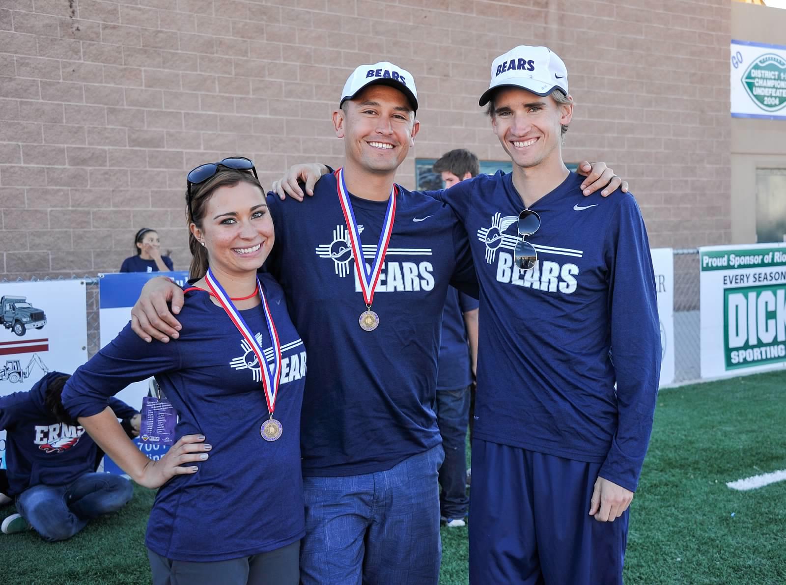 Bear Cave Crew - Erika Firebaugh, Nick Martinez, and Loren Wohletz!