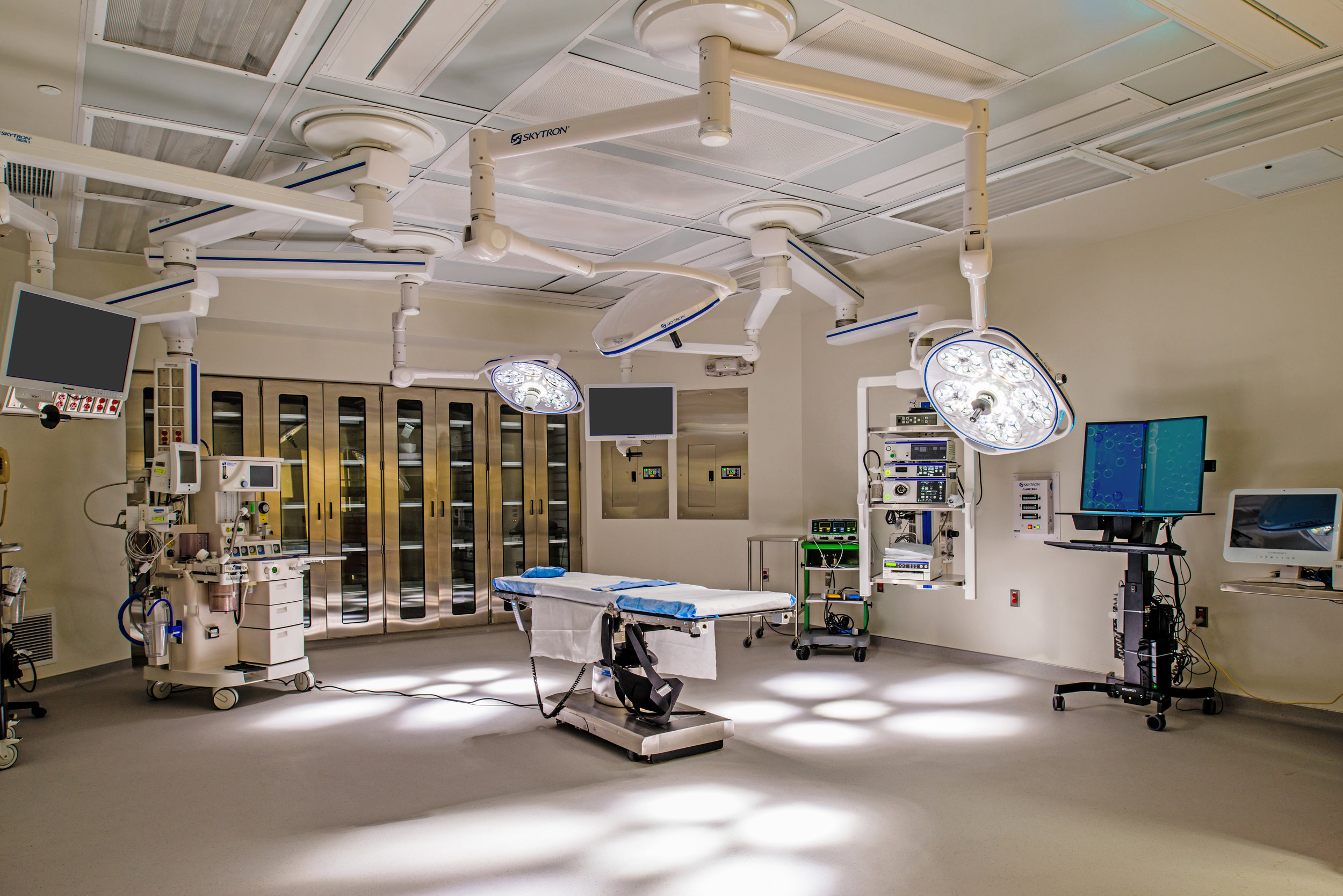 Same Day Surgery Operating Room  at Lake Charles Memorial Hospital
