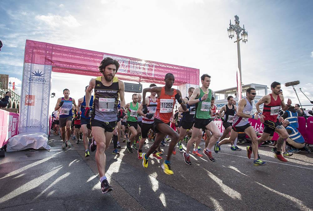 Vitality Brighton Half Marathon held on Sunday 22nd February 2015.Photo credit : Chris Winter