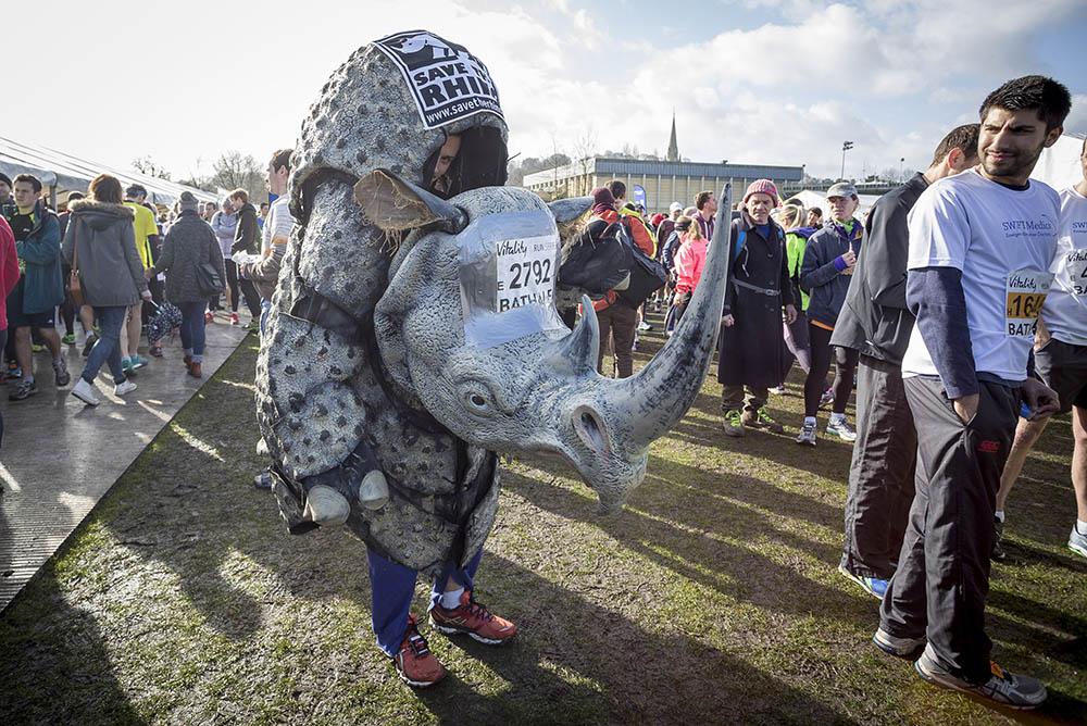 Vitality Bath Half Marathon. 1st March 2015.Photo credit : Chris Winter