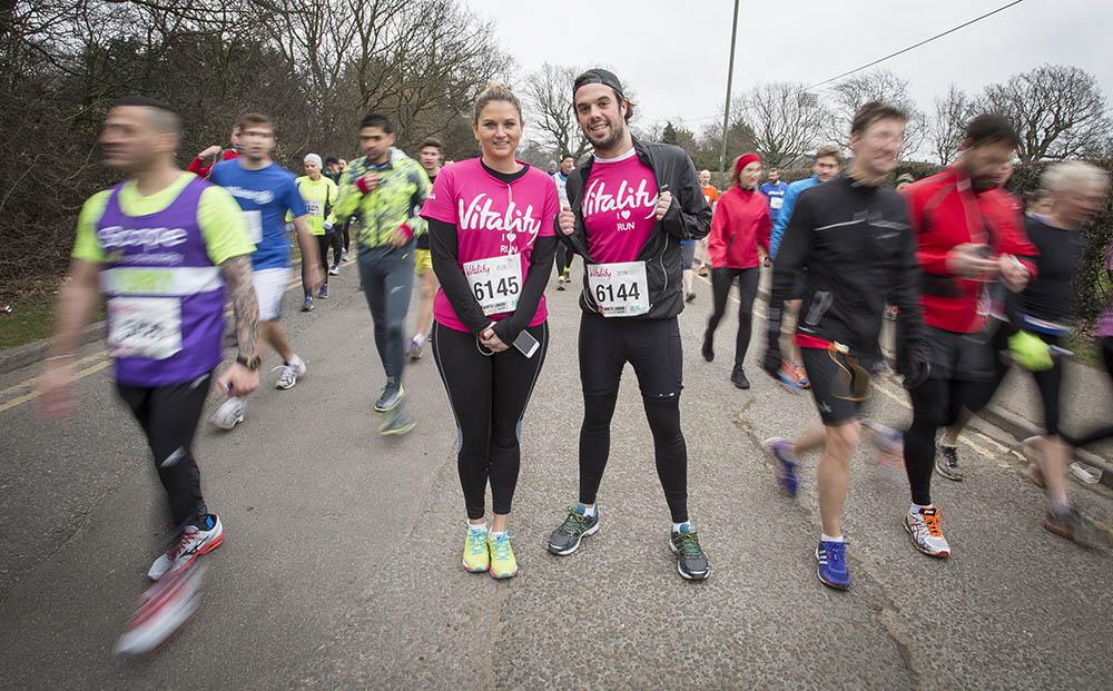 Vitality London Half Marathon. 15th March 2015.Photo credit : Chris Winter