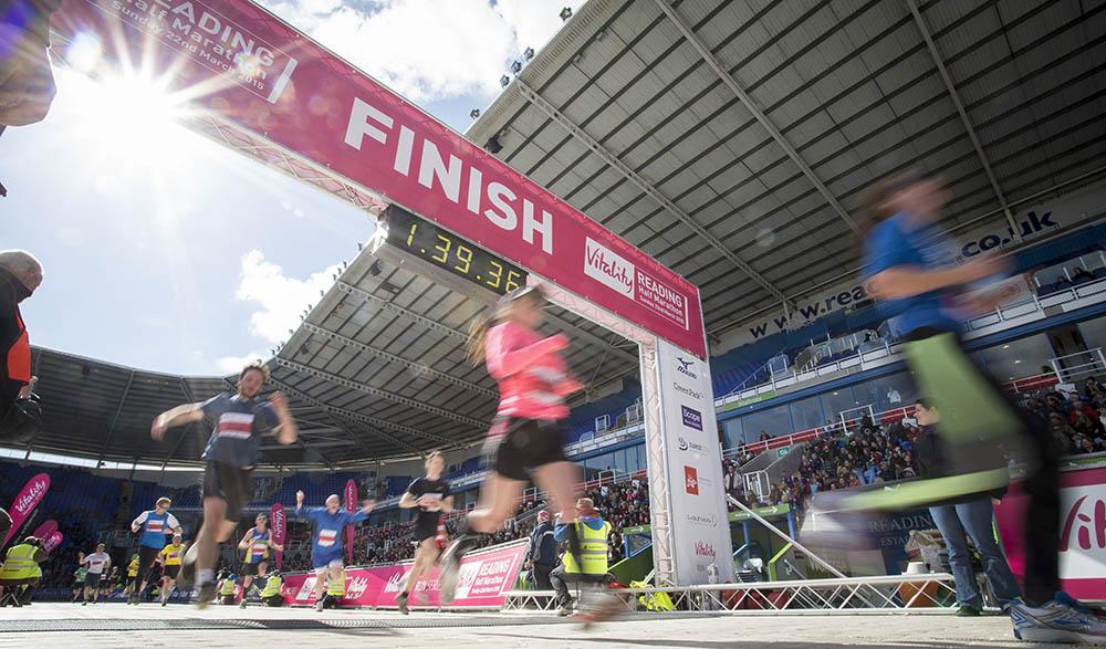 Vitality Reading Half Marathon. 22nd March 2015.Photo credit : Chris Winter