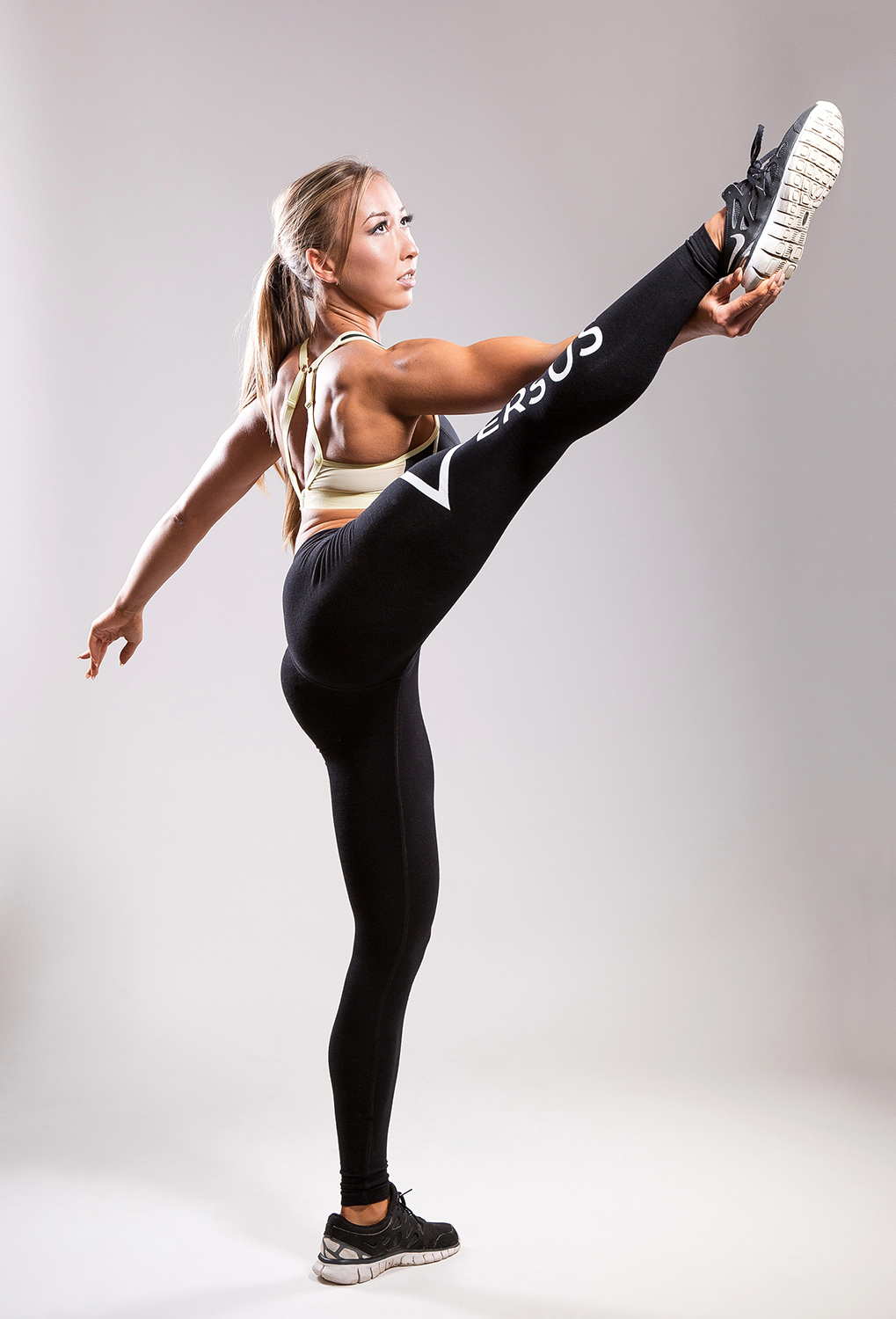 Gina Hunt fitness shoot.