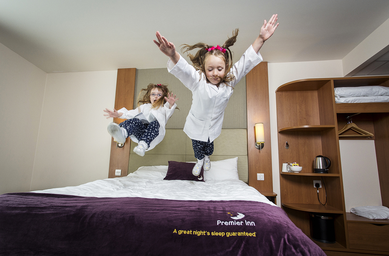 Premier Inn - Junior Hotel Inspectors.Photo credit : Chris Winter