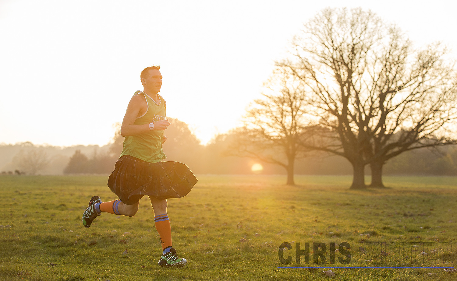 Marathon Man UK Rob Young.Photographed in London on the 20th November 2014.Photo credit : Chris Winter