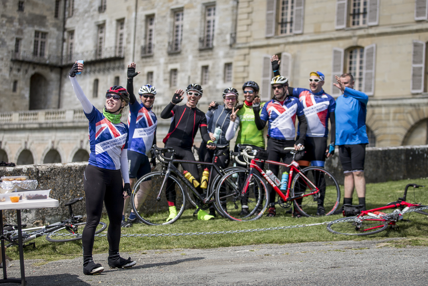 London 2 Paris 24hr cycle sportive.