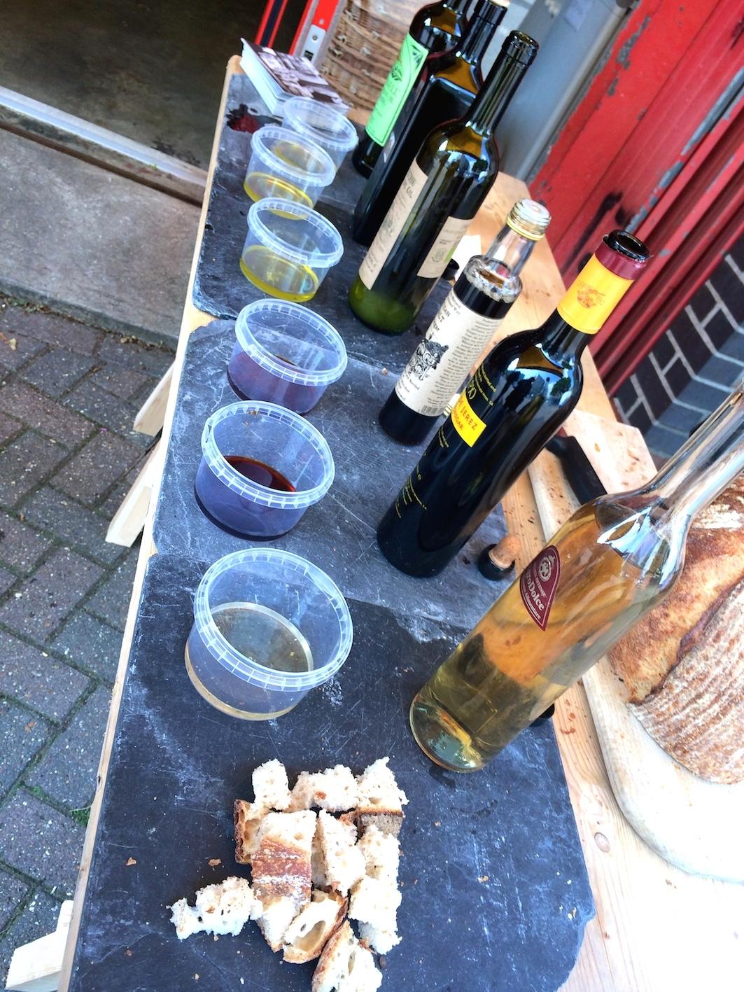 Olive oils and vinegars
