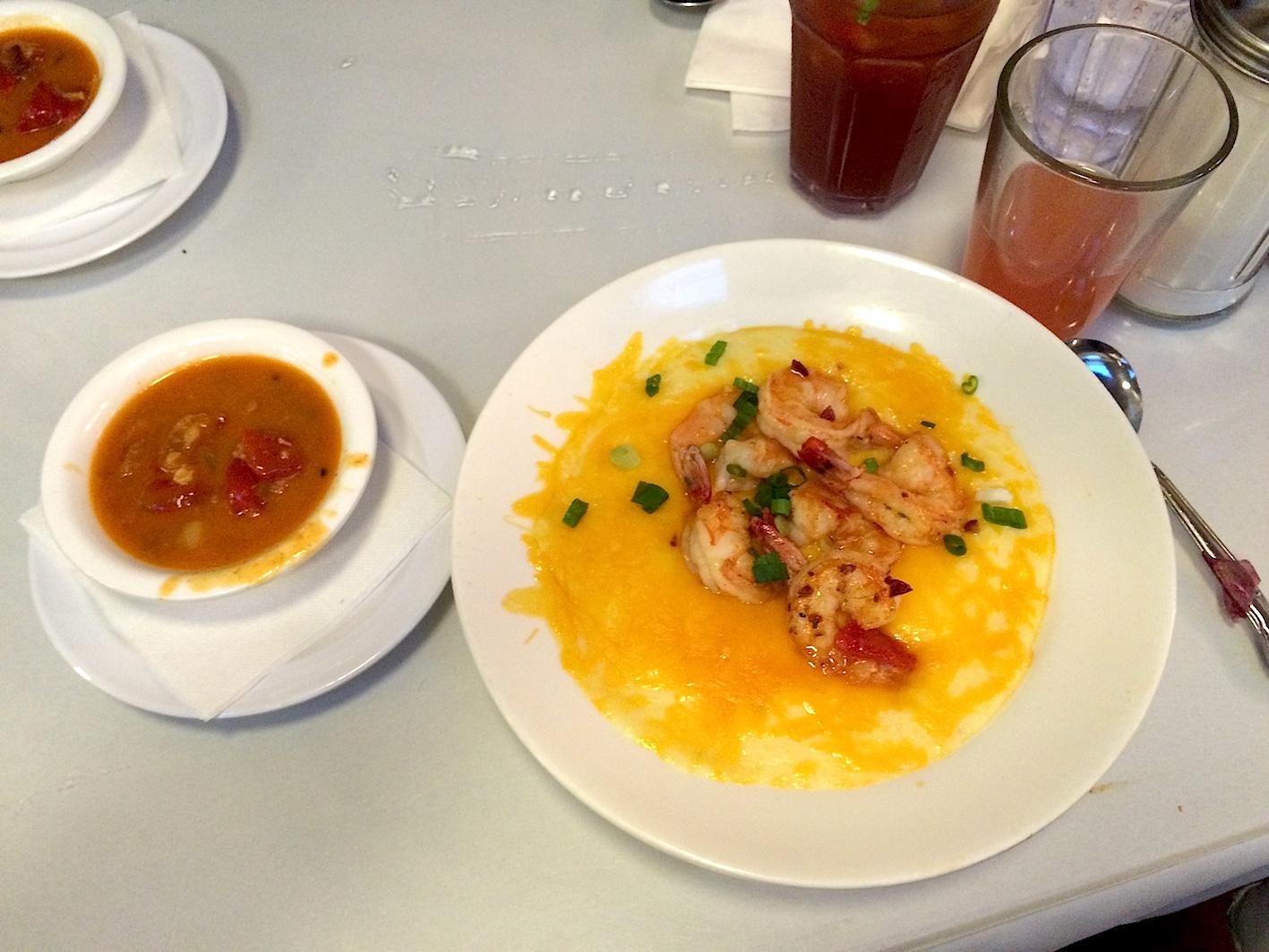 Brenda's French Soul Food Shrimp and Grits, San francisco