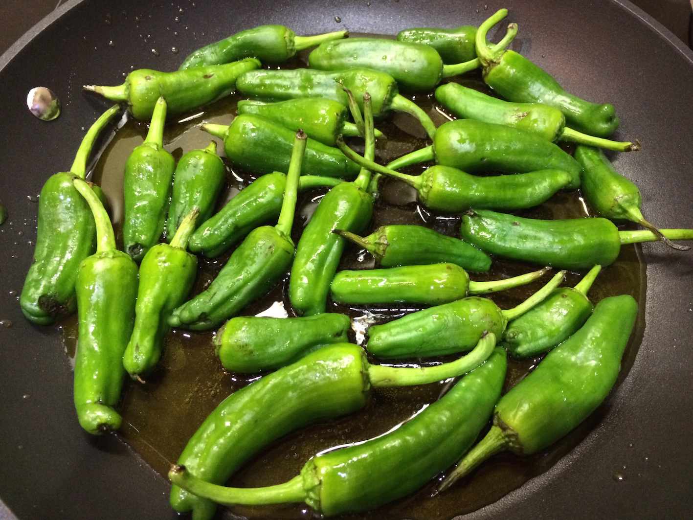 fresh in the pan