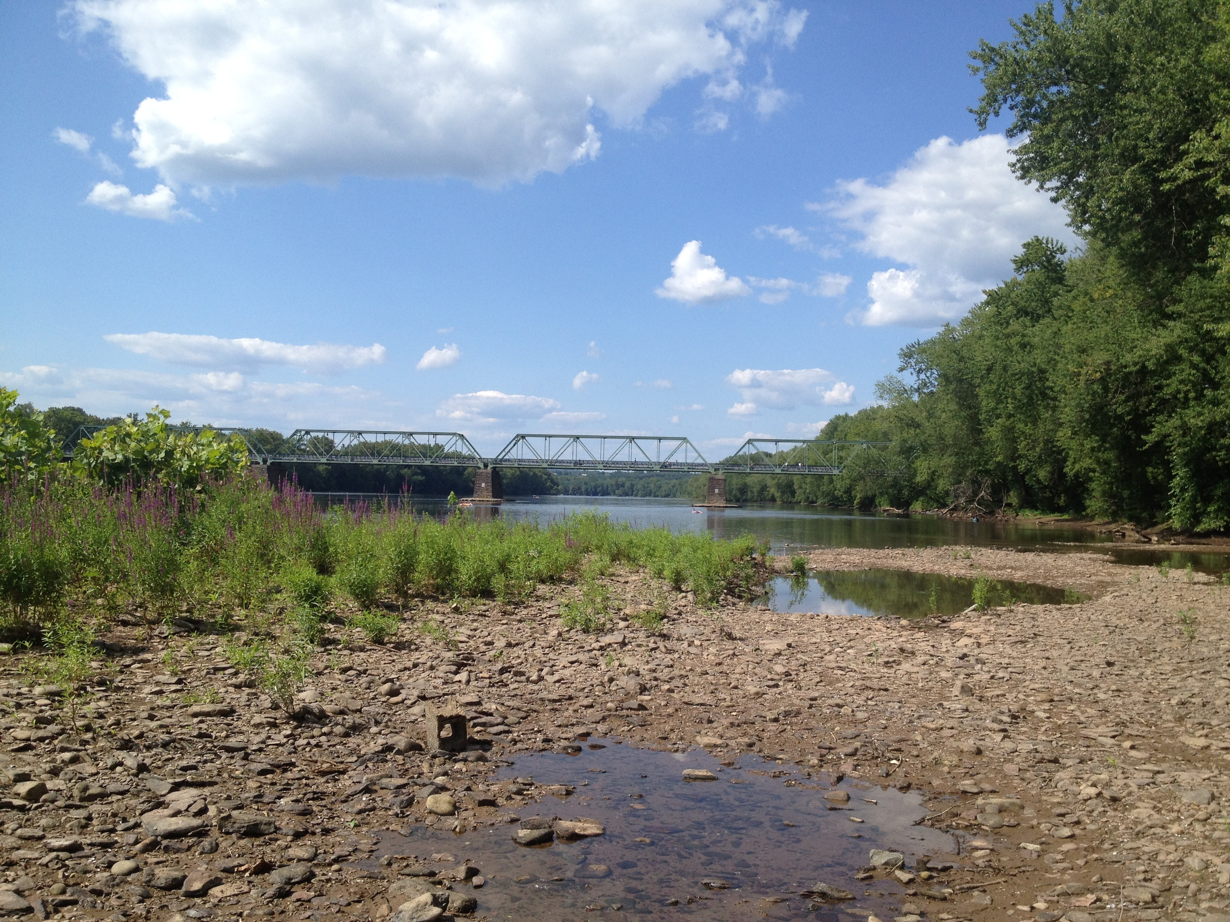 Delaware River in Frenchtown, NJ
