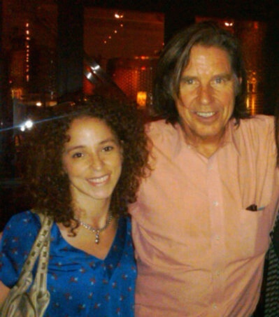 Me with John Doe, the lead singer of X, in 2010. This is my favorite picture ever.