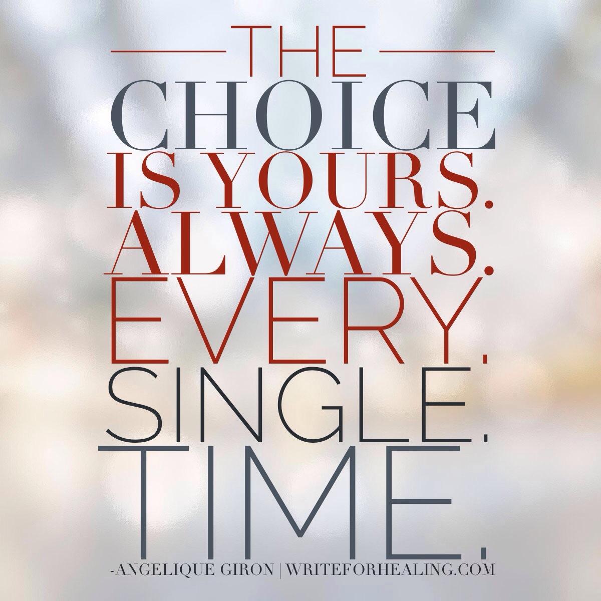 Your choice...