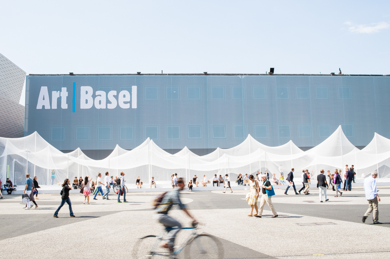 Art Basel, Basel, Switzerland, 2014,      CREDIT: Clara Tuma for The Wall Street Journal,      ARTBASEL