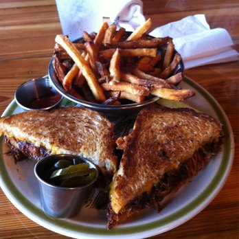 Our signature BBQ Brisket Grilled Cheese