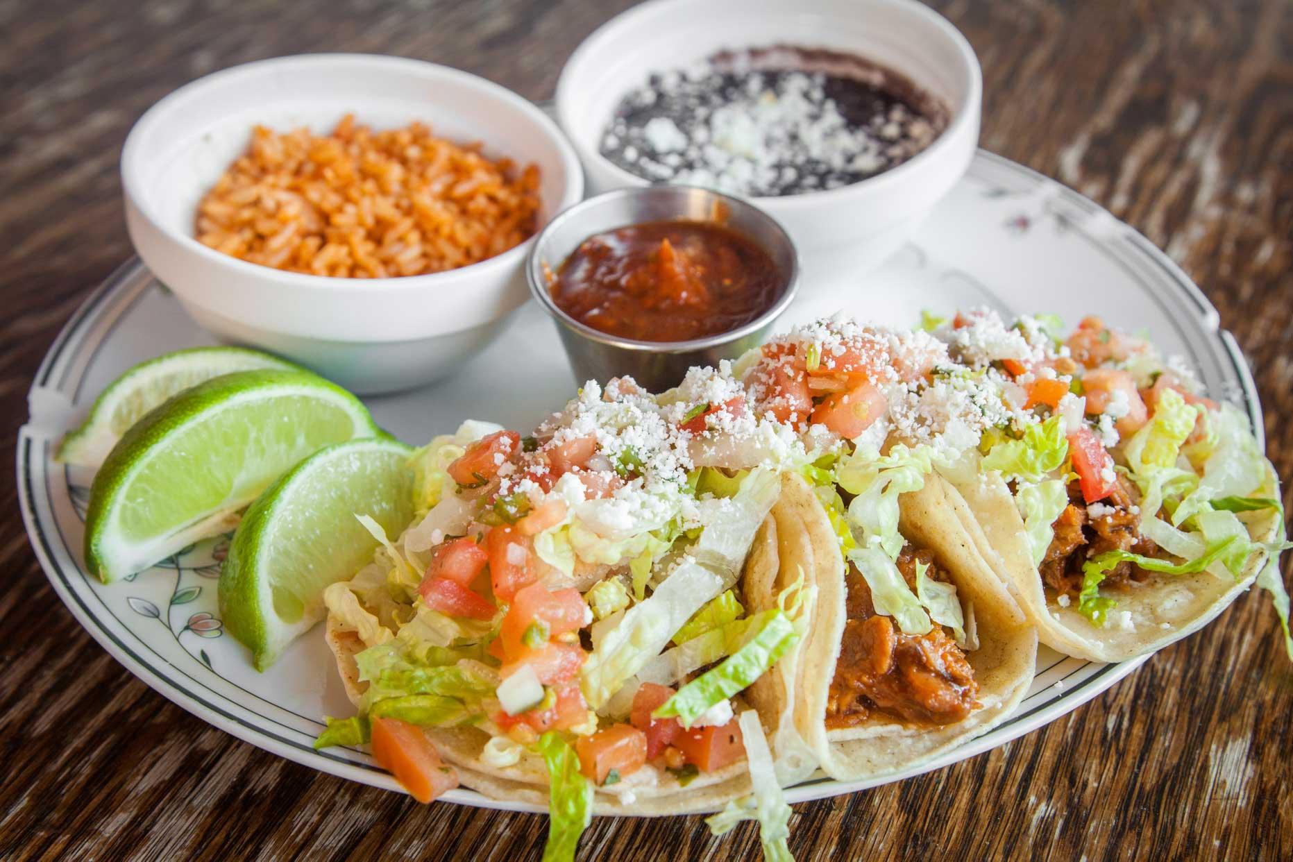 nodding donkey tacos