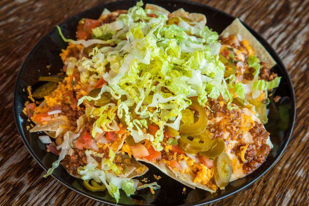 The Nodding Donkey's Stacked Nachos
