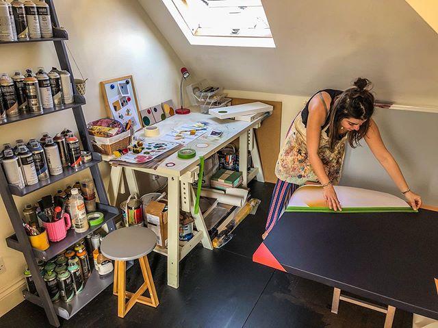Busy day in the studio... . . . . #abstractart #sqaures #liquitexpaint #liquitexspraypaint #stuidio #art #painting #artist #artlovers #geometrics #geometricshapes #minimalism #stuidiolife #londonart #londonartist #newart #newdesign #artwork #colours #artgallery #artliving #contemporaryart #contemporarypainting #creativity #artcommission #series #surface #cassart #interiordesign #interiordesigners