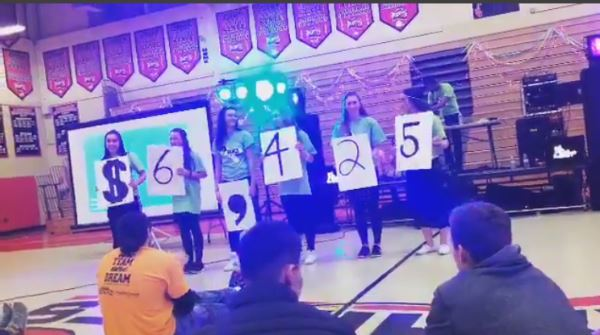 """You Can't Start A Fire Without a Spark!  : Hunterdon Central students making a difference at the """" Dance for a Chance """" dance marathon event."""