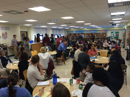 O  ver 80 people represented the John Eager Howard family at the October 15th Visioning Meeting.