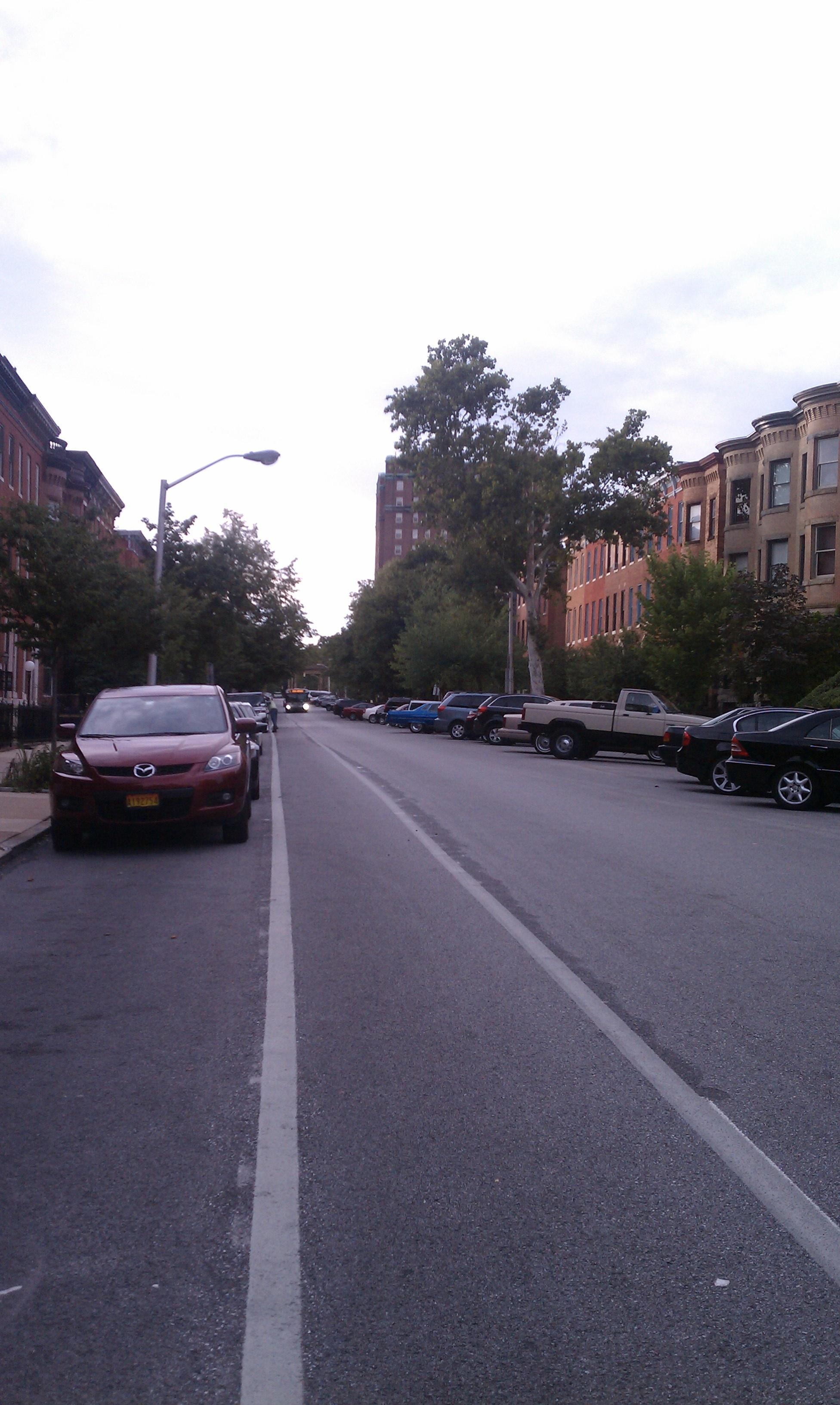 Madison Ave bike lane