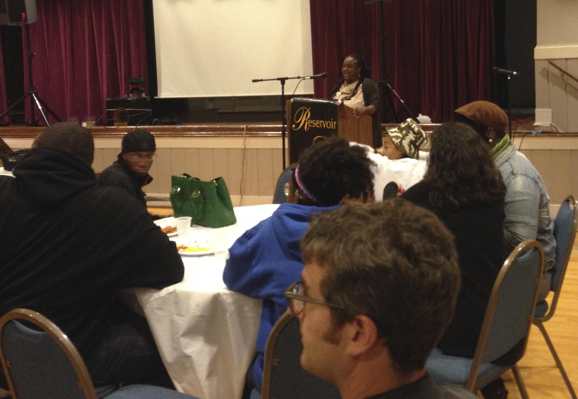 RHIC Board President Rev. Karen Brown