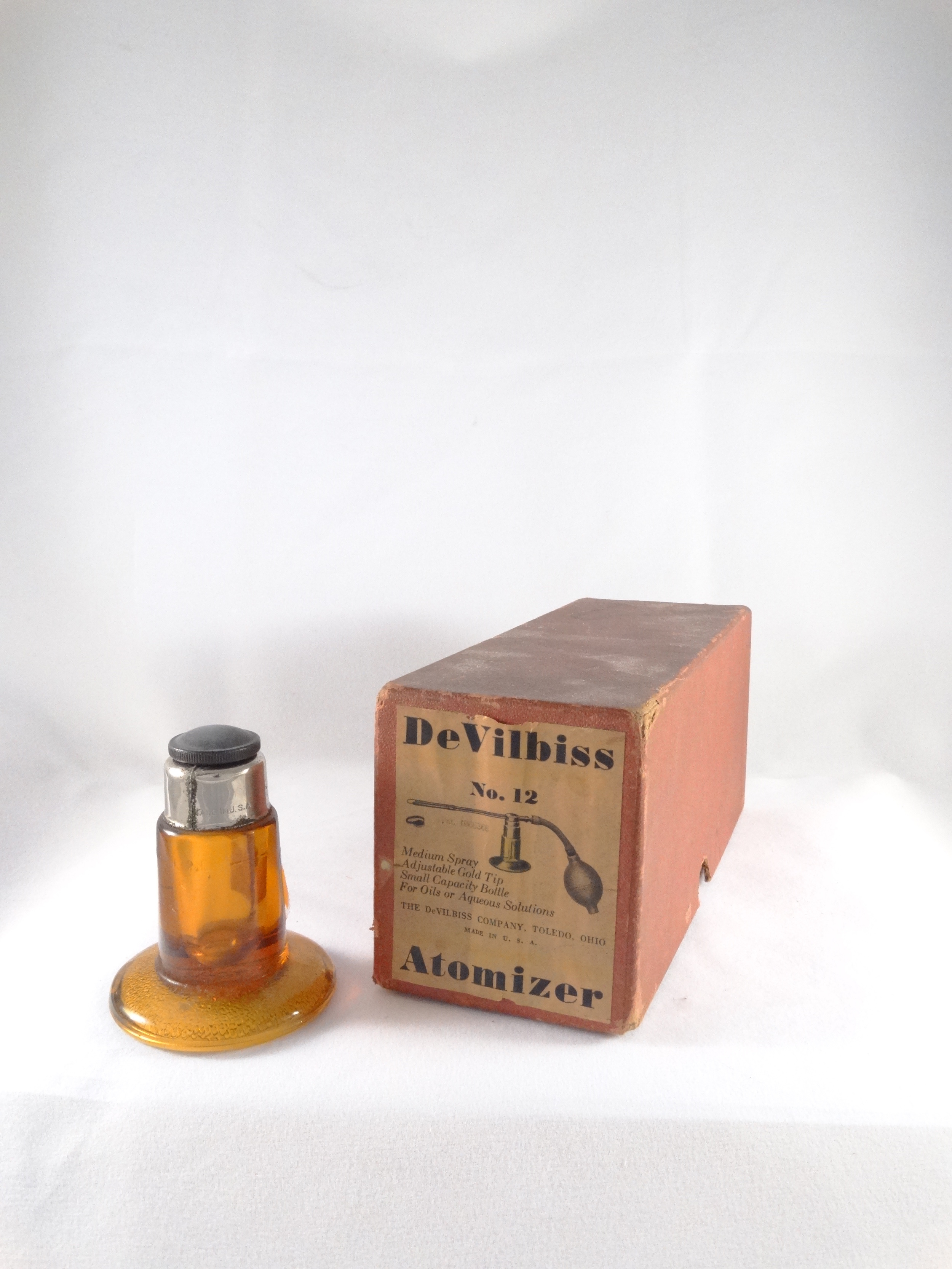 divilbiss atomizer no.12 with original box