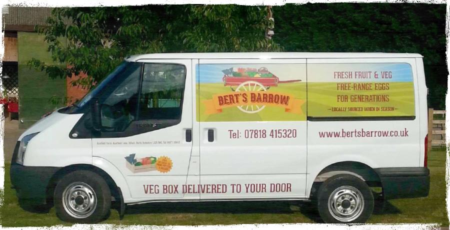 Bert's Barrow Van