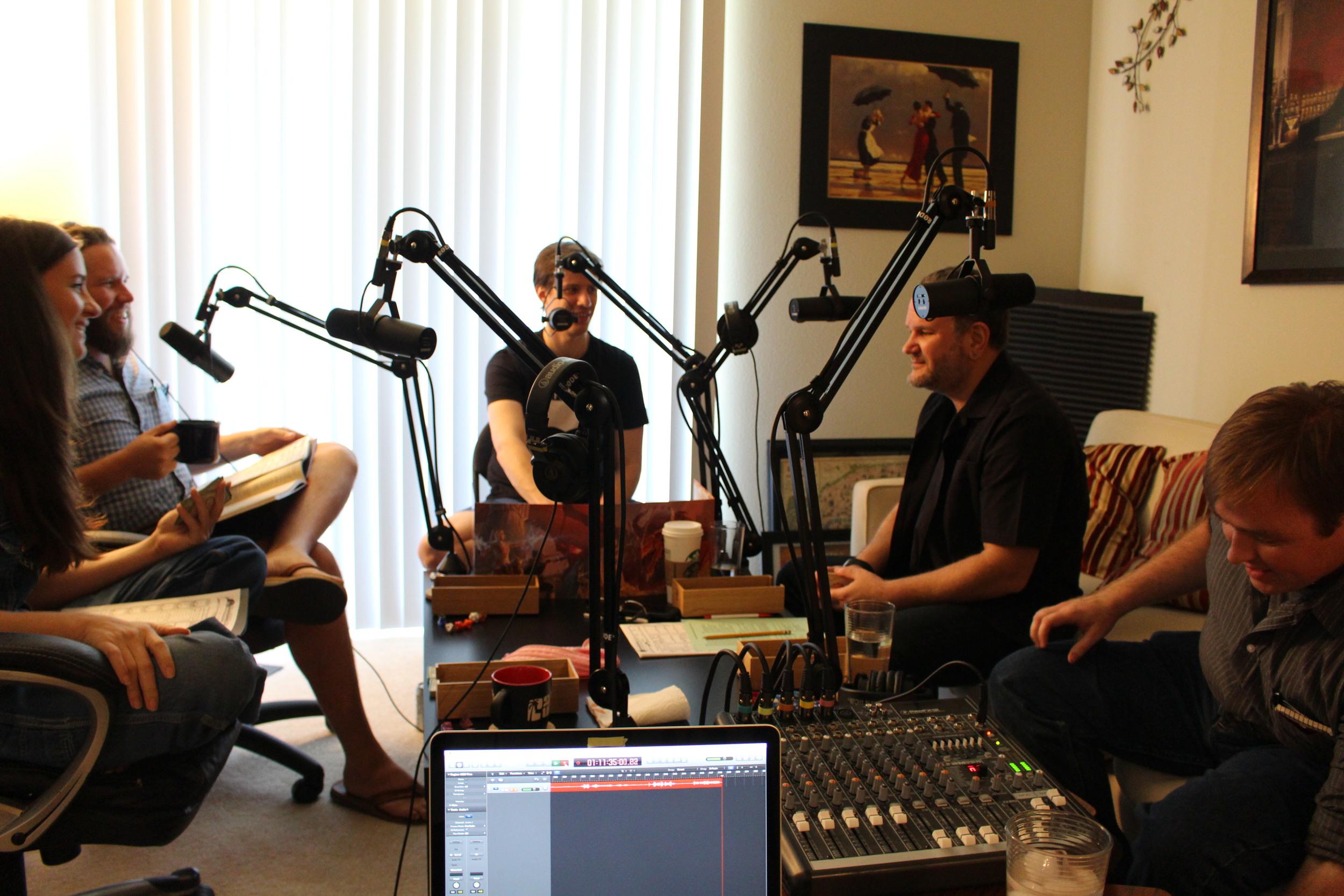 Recording season 4 with Javier Grillo-Marxuach