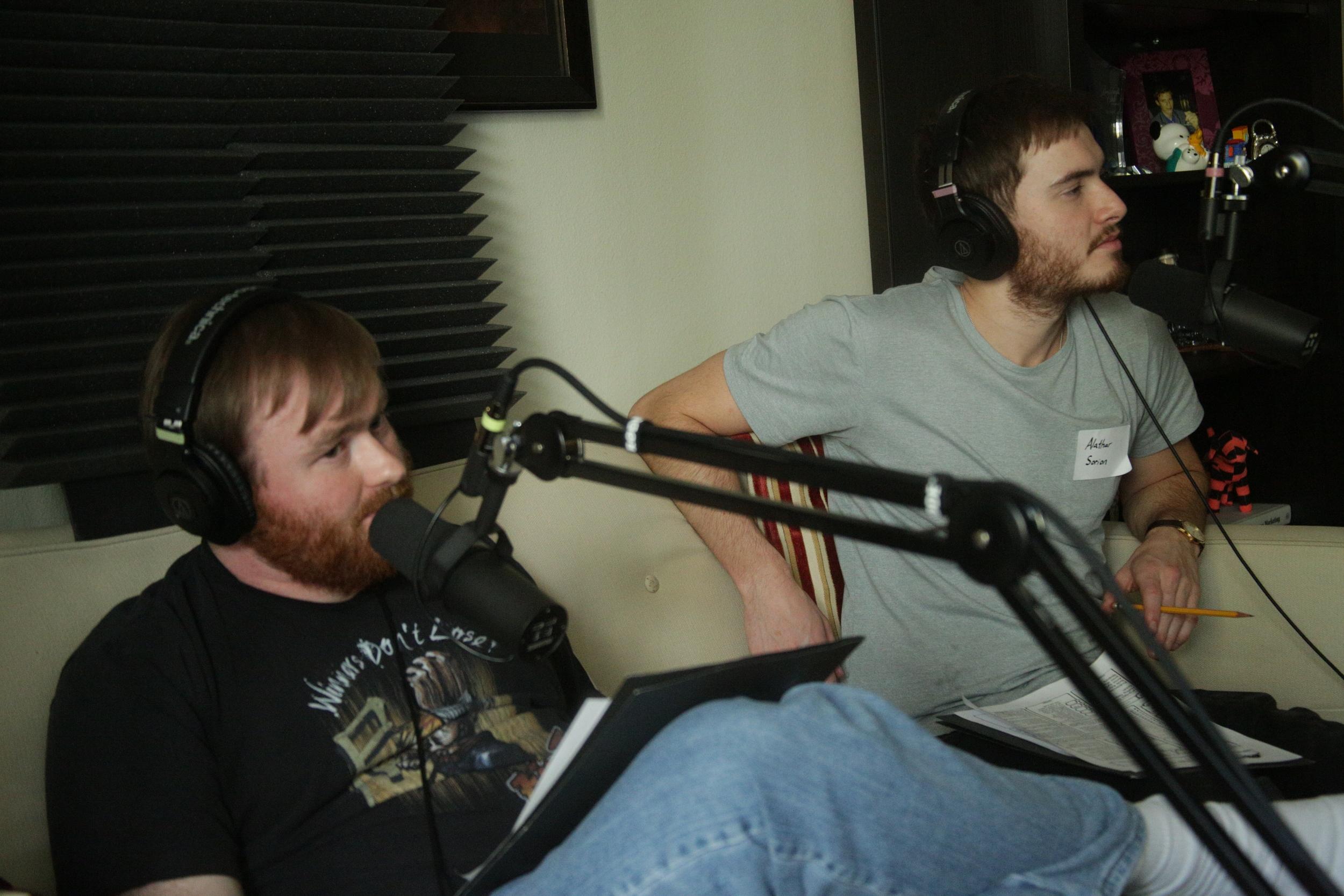 Sweeney (Mike Christensen) & Alathar (Matt Kane)