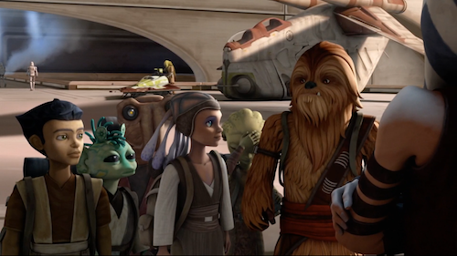 Mike Watches Star Wars The Clone Wars 5x06 The Gathering Partial Arc During the war, gungi and a group of five other younglings, ( petro, katooni, byph, ganodi and zatt) were deemed to be at the top of their class and, led by ahsoka tano and jedi grand master yoda, they traveled to ilum to participate. mike watches star wars the clone wars