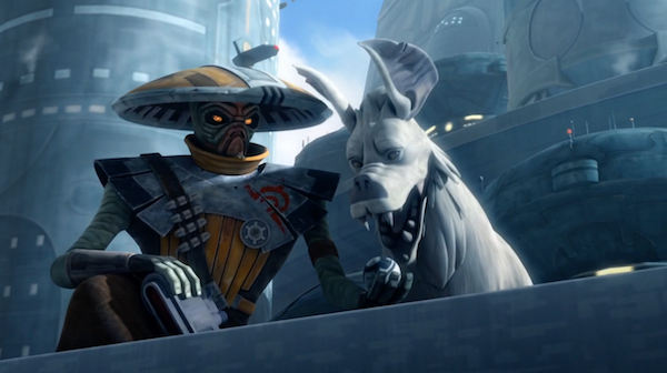 Mike Watches Star Wars The Clone Wars 6x05 An Old Friend Partial Arc