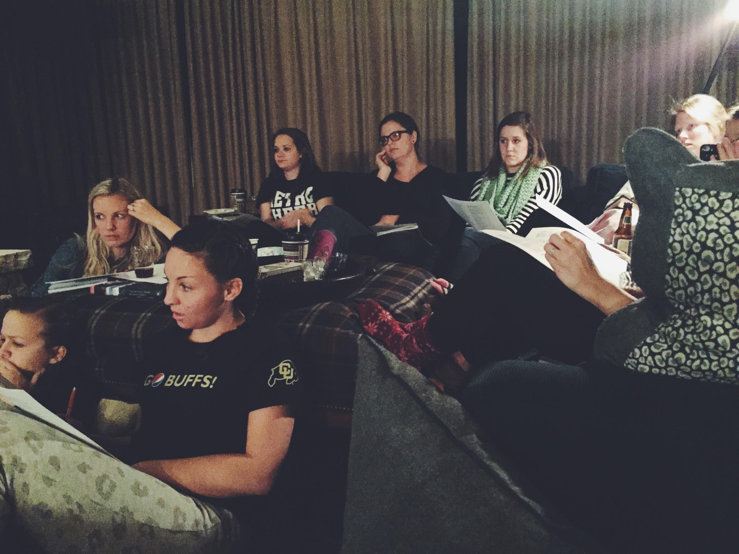 Saturday Evening Session