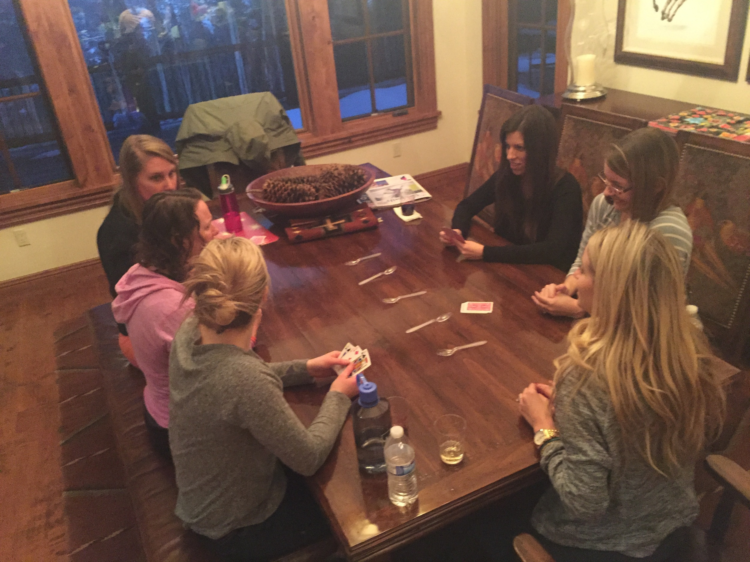 Playing Spoons