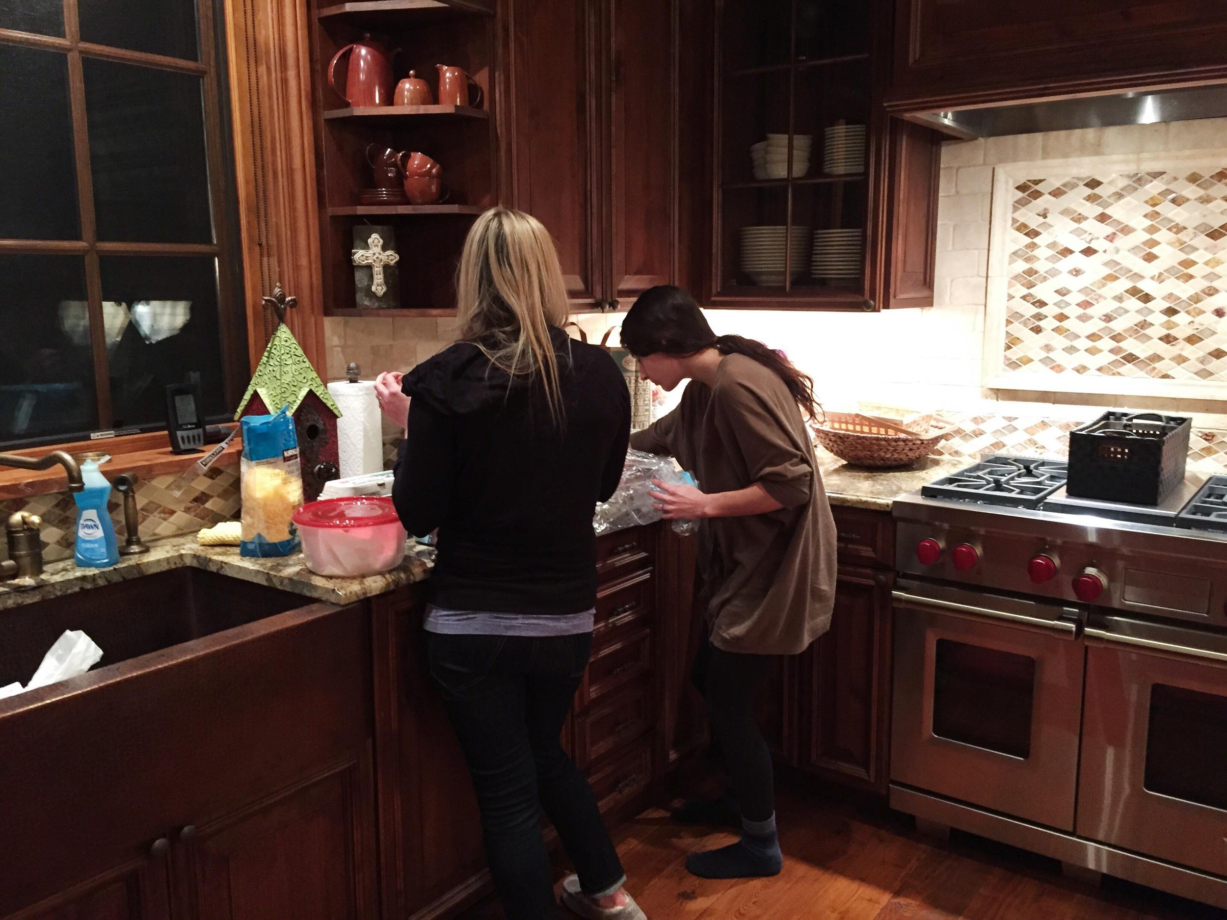 Lightner Girls Cooking