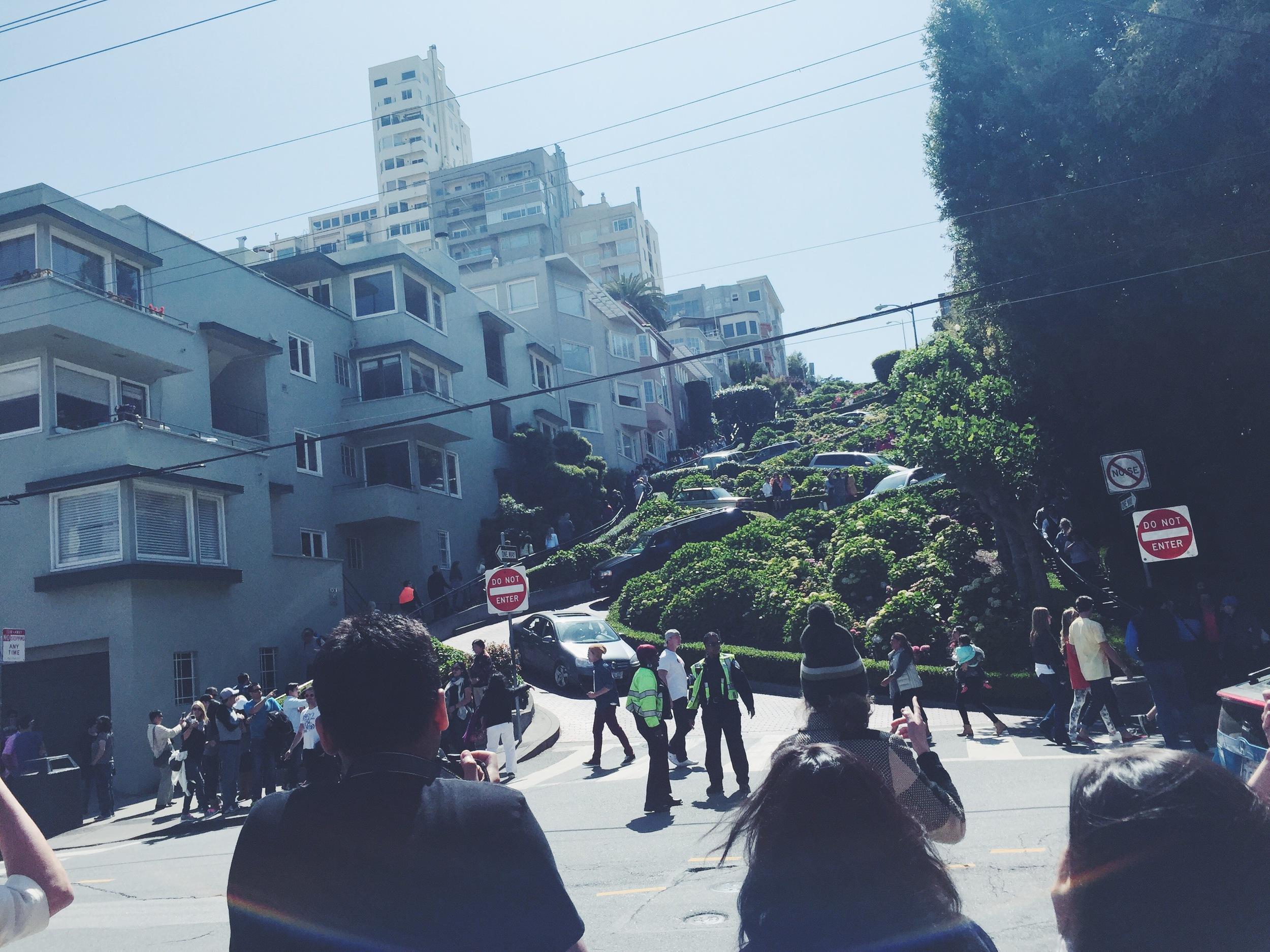 Lumbard Street - View