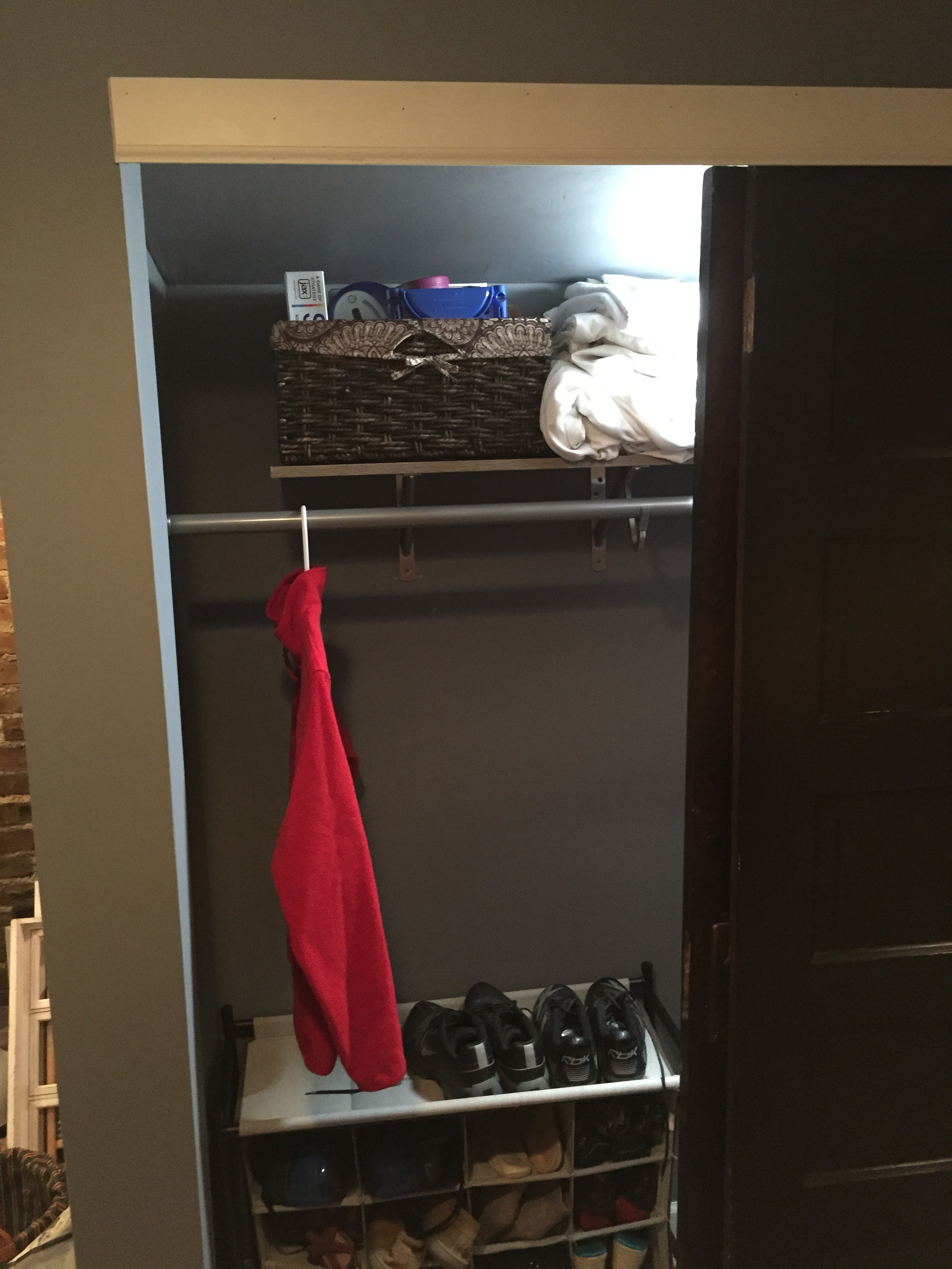 Basement Closet - Finished 2