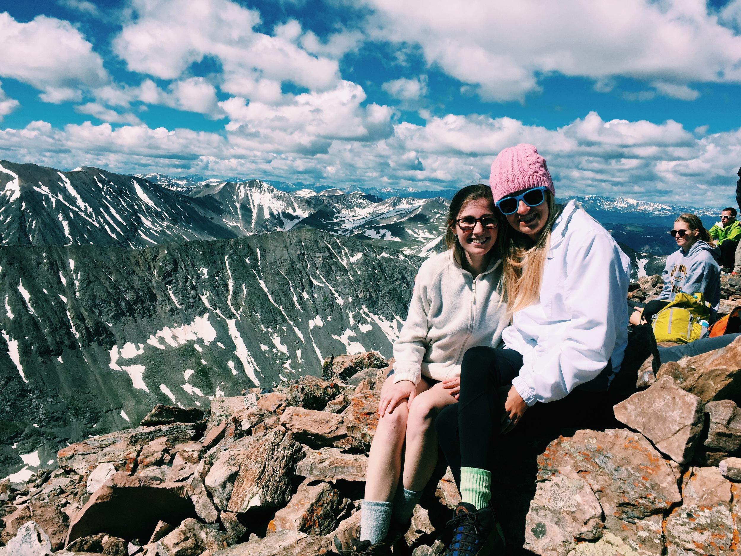 Quandary Summit - Anna + Chels