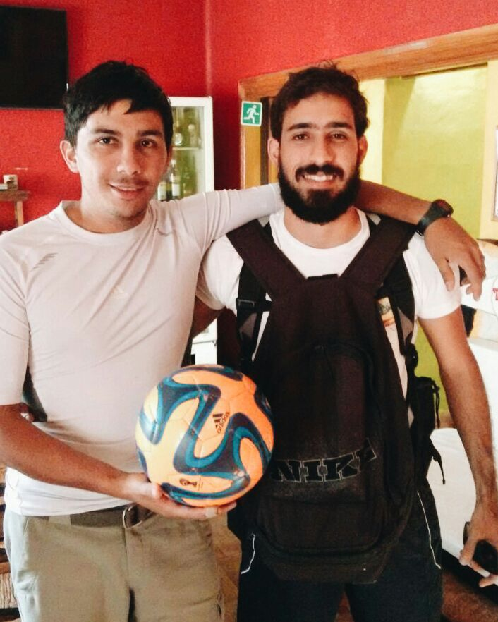 Paco, eu e La Pelotuda e um sonho em comum: a transformação por meio do futebol.