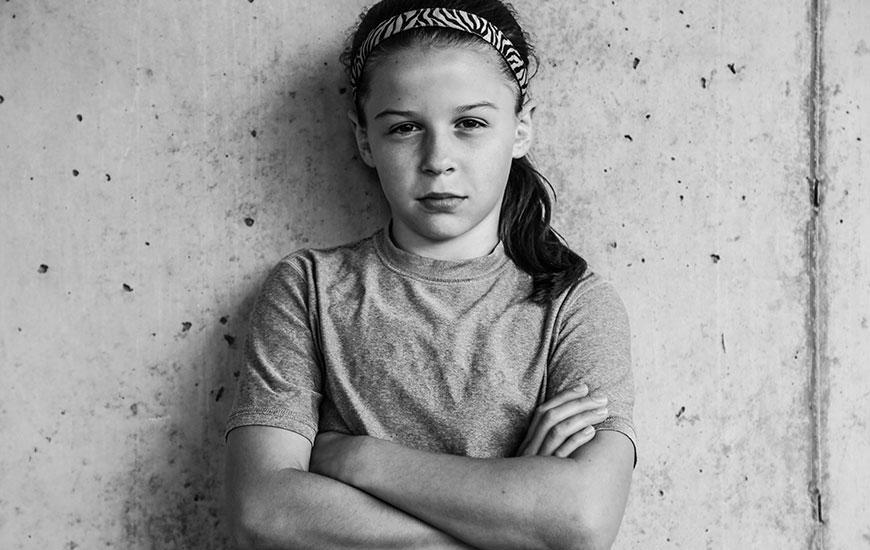 """Sierra, 10.  """"Meu apelido no meu time é Fera""""."""