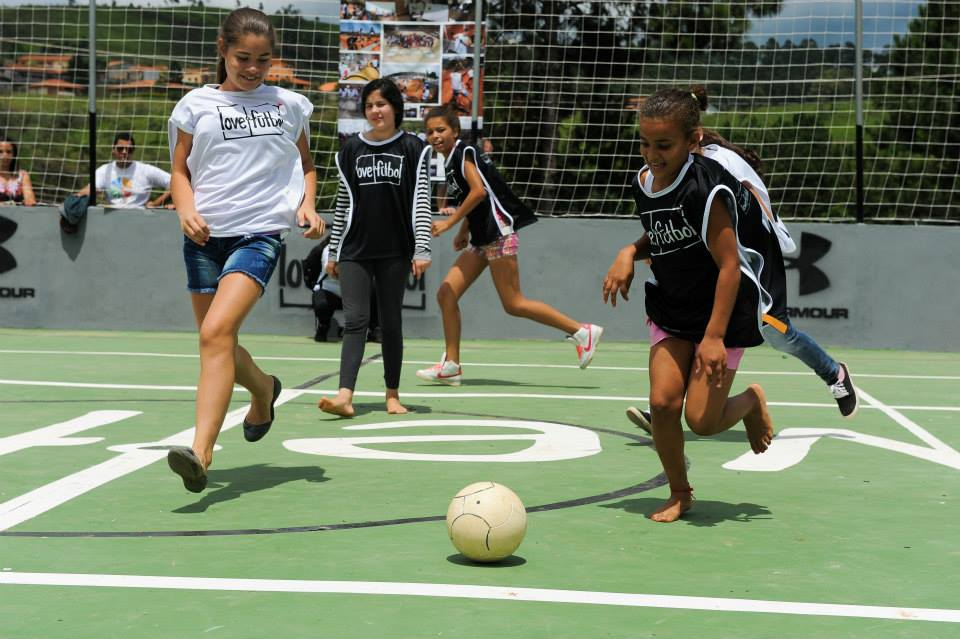 Projeto love.fútbol #17 em Cururuquara (SP), Brasil.