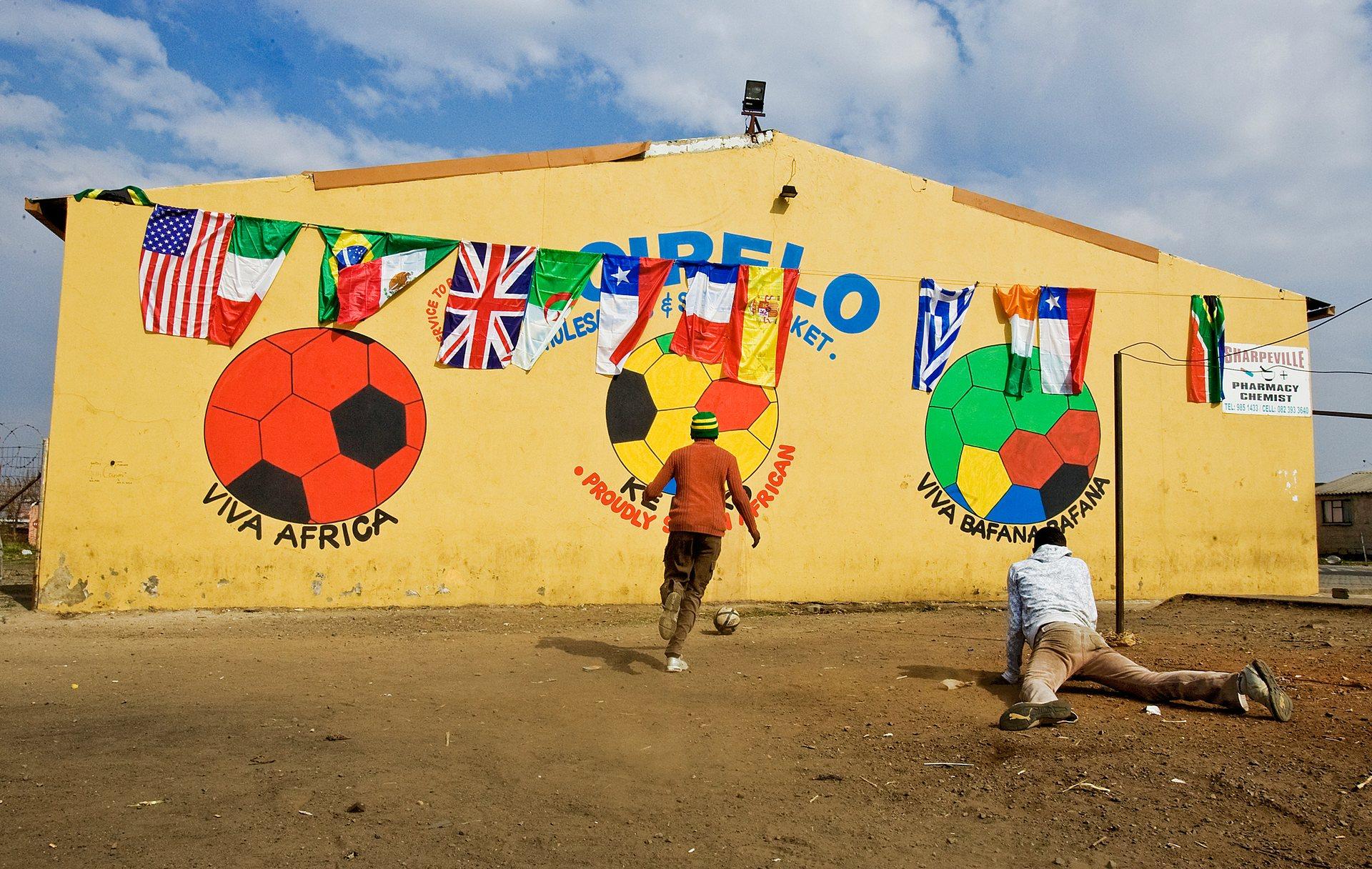 Sharpeville, África do Sul.