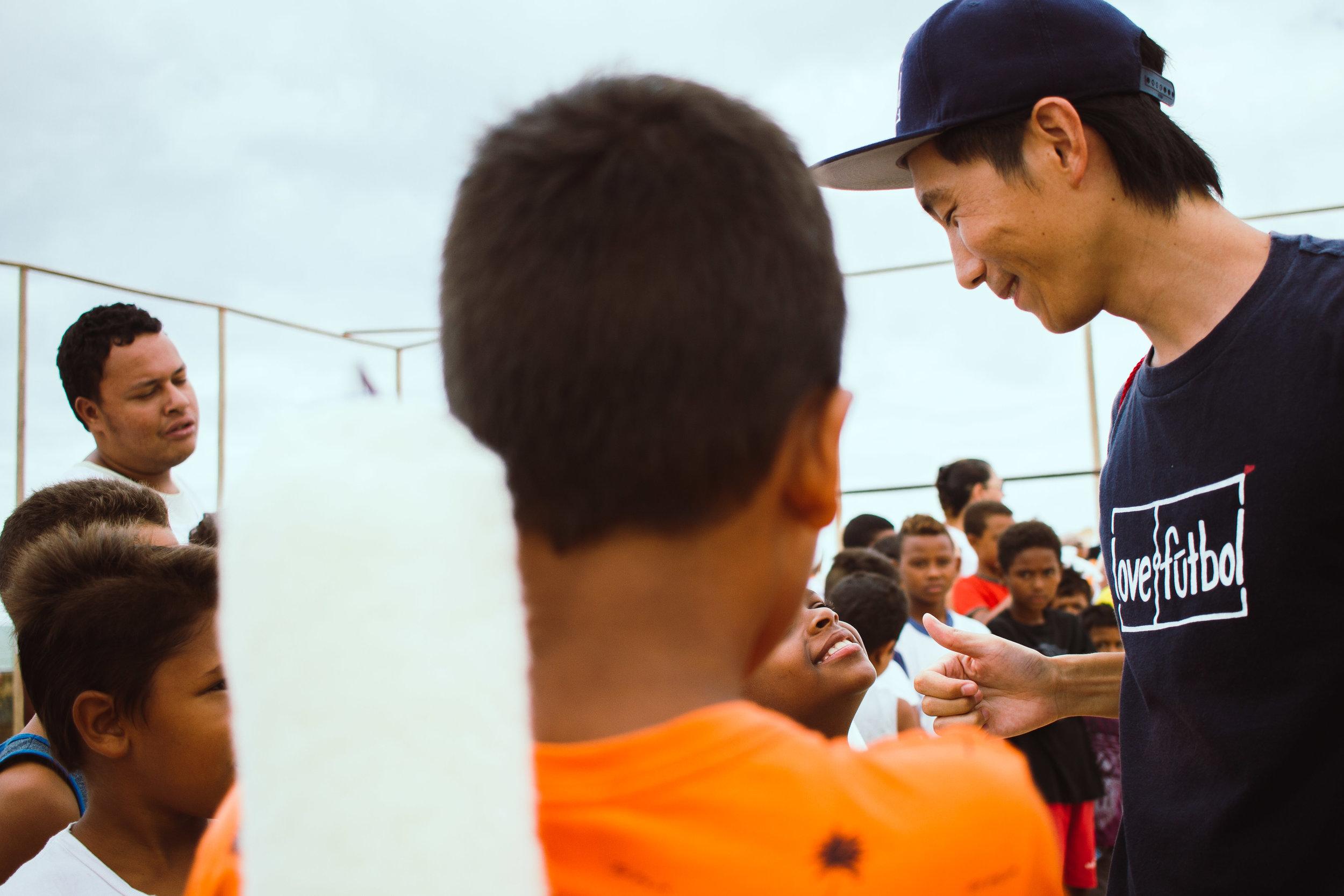 Kato coordenou a campanha de doação online, no Japão, realizada no primeiro semestre deste ano.