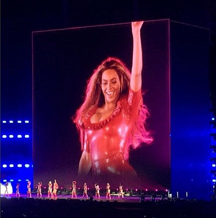 Beyonce - Formation World Tour - Content