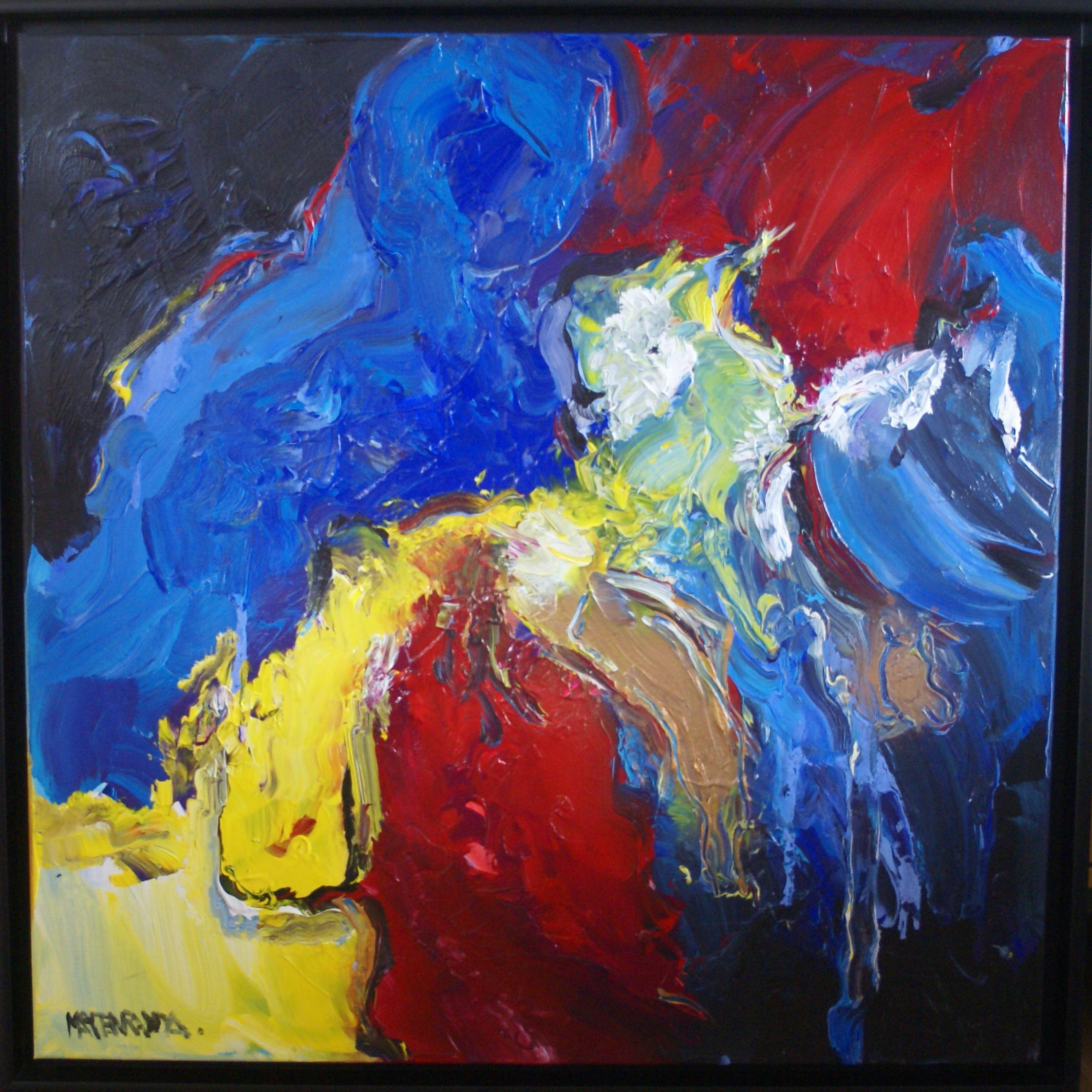 Marten Randa - Vrouw met vogel - €1250