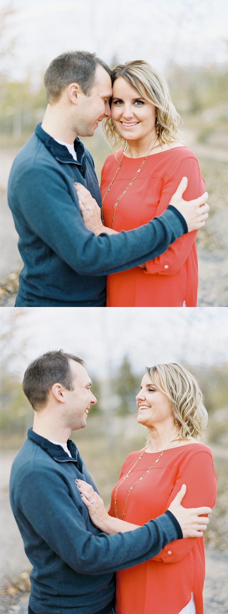 Door County Wedding Photographer, Hill Cliff State Park Engagement Photos, Wisconsin Fall Engagement, Green Bay Wedding, Karen Ann Photography