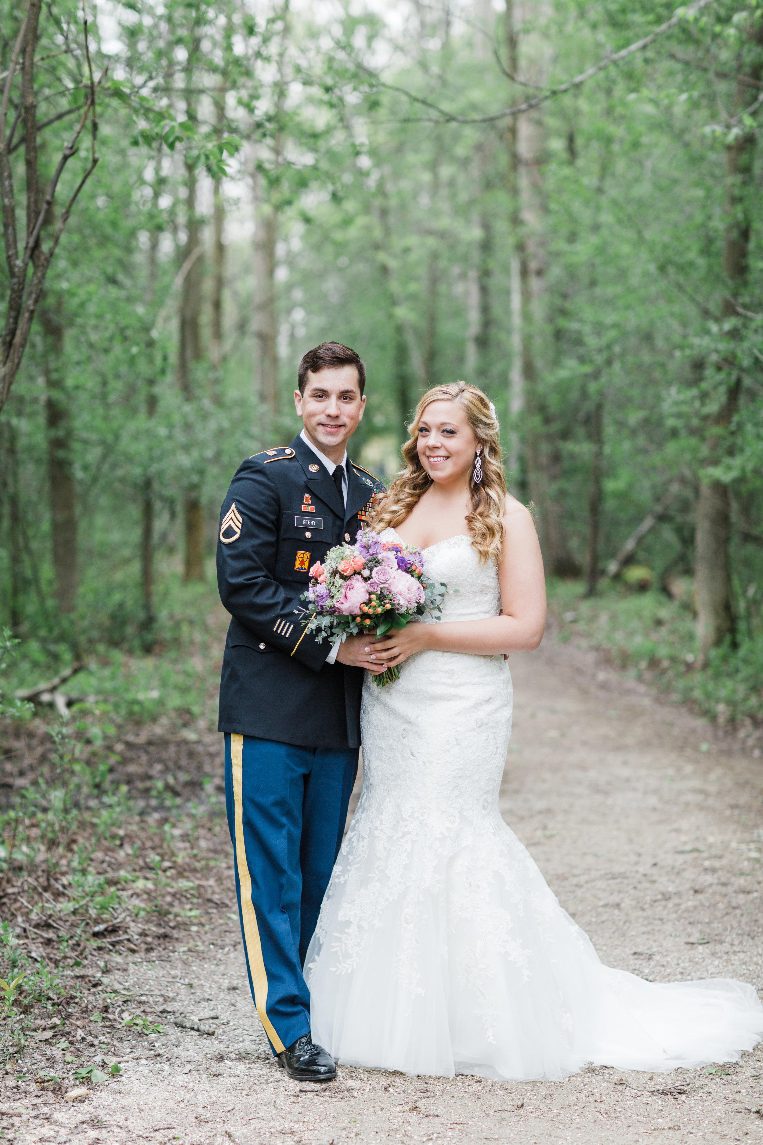 Green Bay Botanical Gardens Wedding Photos, Rock Gardens Reception, Enchanted Florist Wedding Flowers