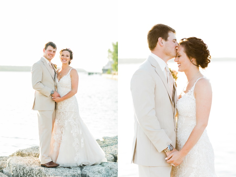 Door County Wedding Photographers, Stone Harbor Resort, Maas Floral & Greenhouses