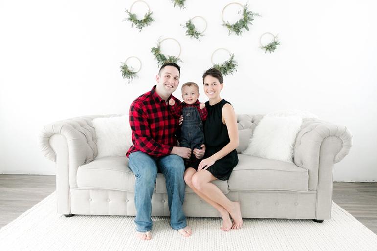 Green Bay Indoor Studio Family Photos